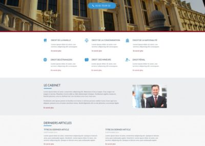 creation site avocat