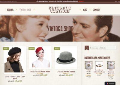 création site vente en ligne