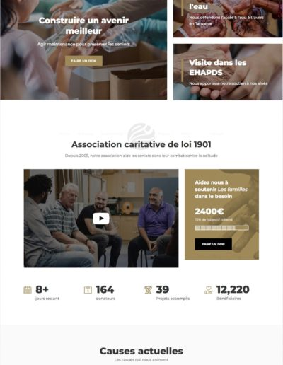 Creation site association - copie