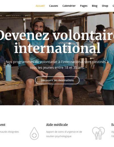 creation site ONG association